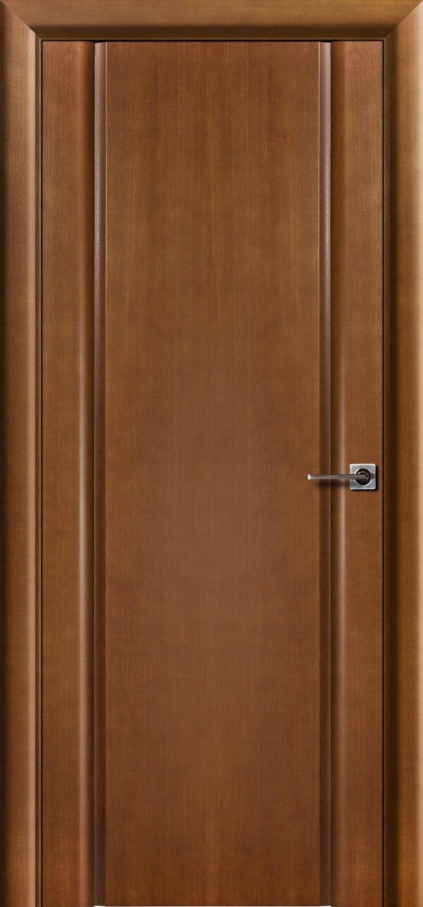 Ульяновская межкомнатная дверь Viva Меланит (глухая) — Дверимаркт