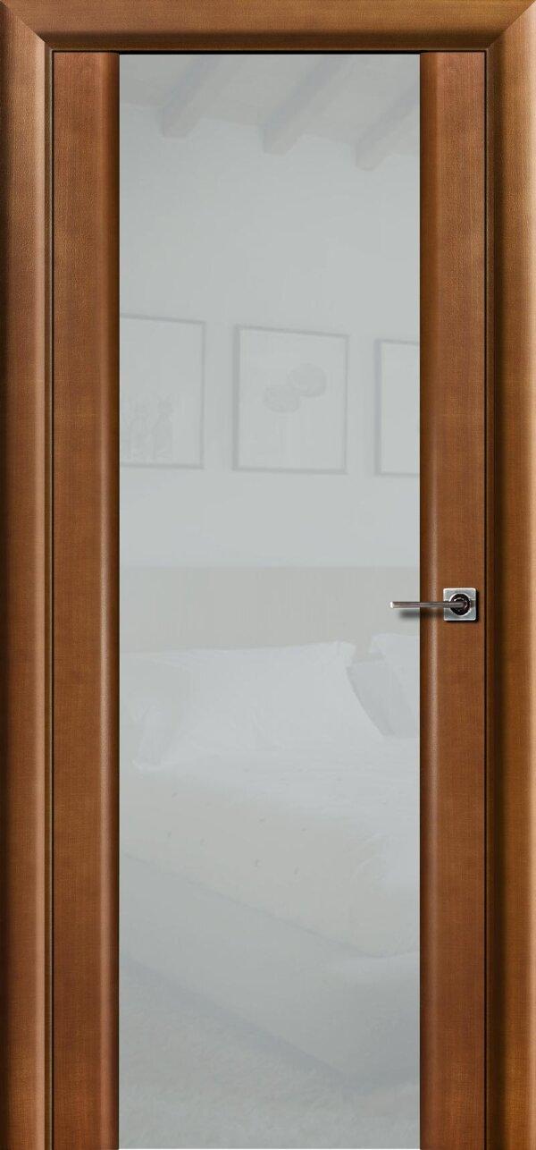 Ульяновская межкомнатная дверь Viva Меланит 3 (со стеклом) — Дверимаркт