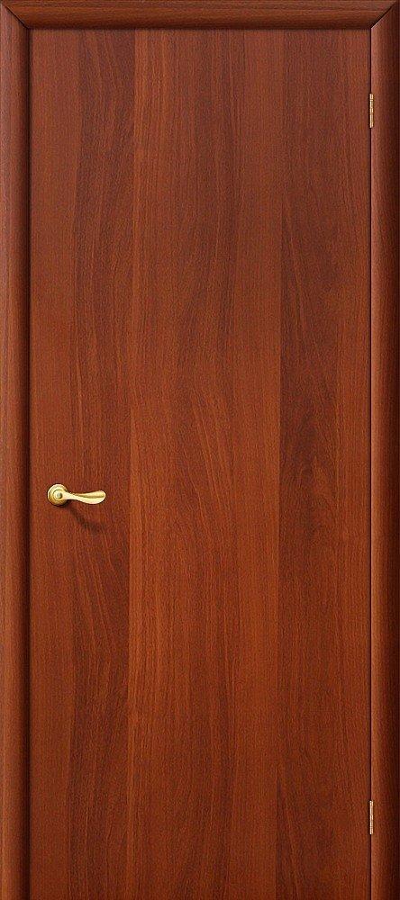 Межкомнатная ламинированная строительная дверь Браво Гост Л-11 (Итальянский орех) — Дверимаркт