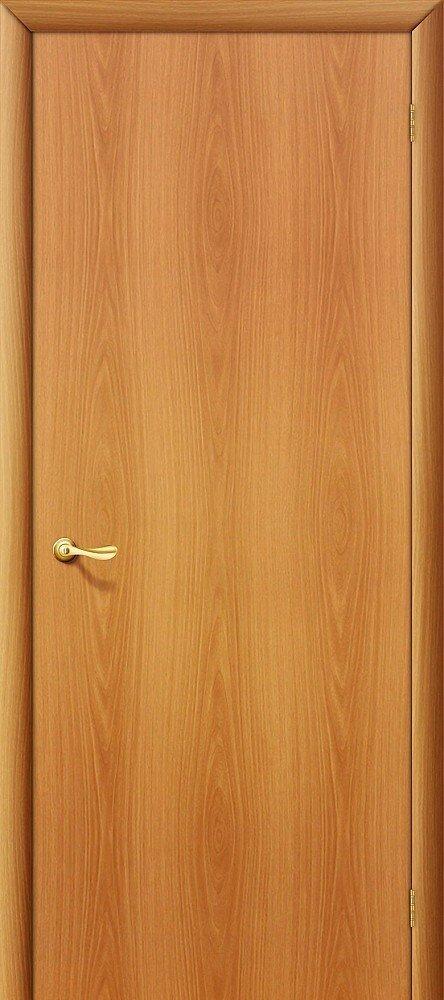 Межкомнатная ламинированная строительная дверь Браво Гост Л-12 (Миланский орех) — Дверимаркт