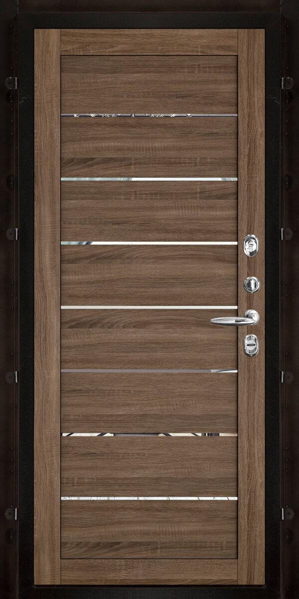 Внутренняя панель LIGHT 2125 (зеркало) — Дверимаркт