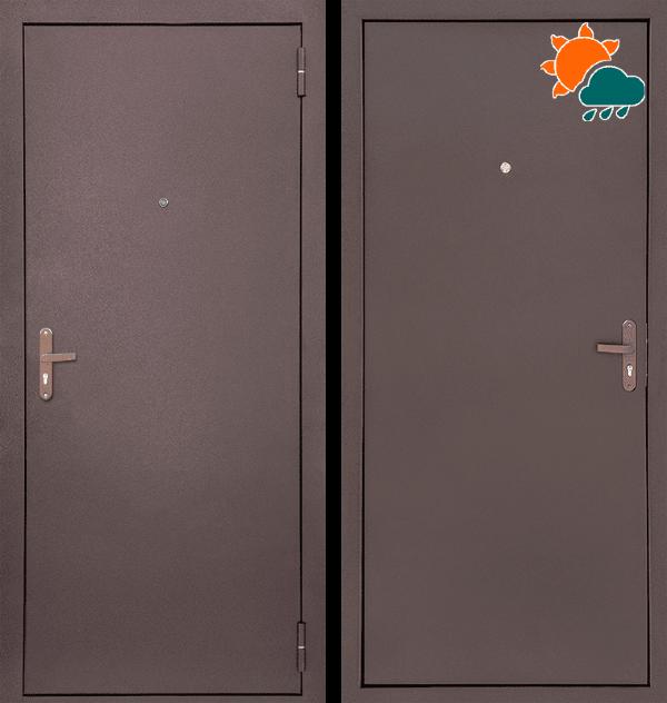 Входная металлическая дверь CommandDoors Профи-Стройгост 5-1 — Дверимаркт