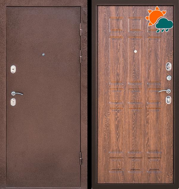 Входная металлическая дверь CommandDoors Кантри — Дверимаркт