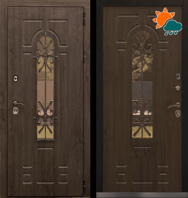Входная металлическая дверь CommandDoors Лацио 3К с ковкой — Дверимаркт