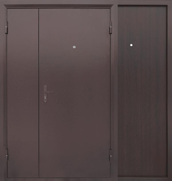 Входная металлическая дверь CommandDoors Распашная 1250 — Дверимаркт