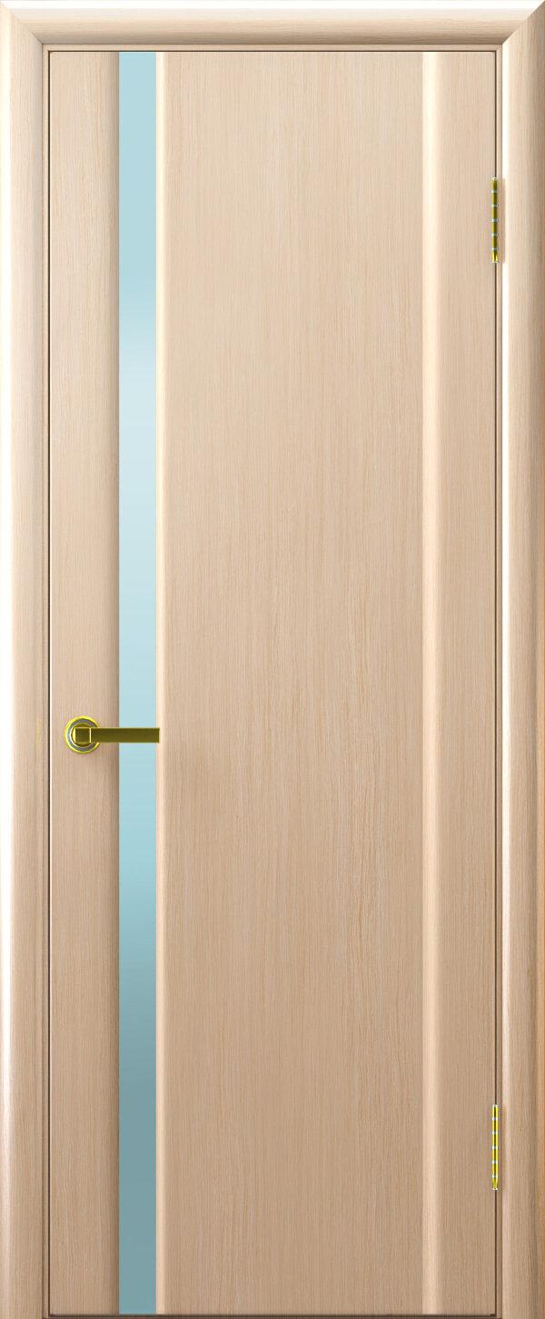 Ульяновские двери Regidoors Техно-1 (стекло белый триплекс) — Дверимаркт