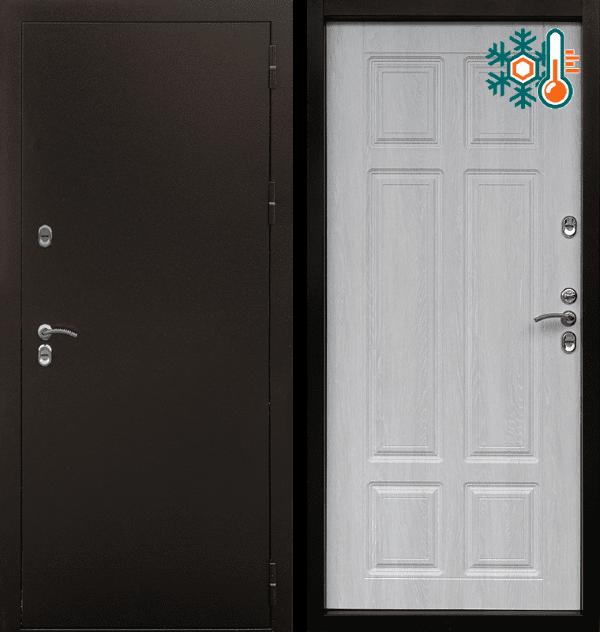 Входная металлическая дверь CommandDoors Сибирь Термо — Дверимаркт