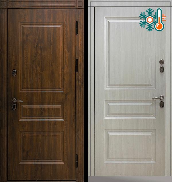 Входная металлическая дверь CommandDoors Сибирь Термо Премиум — Дверимаркт