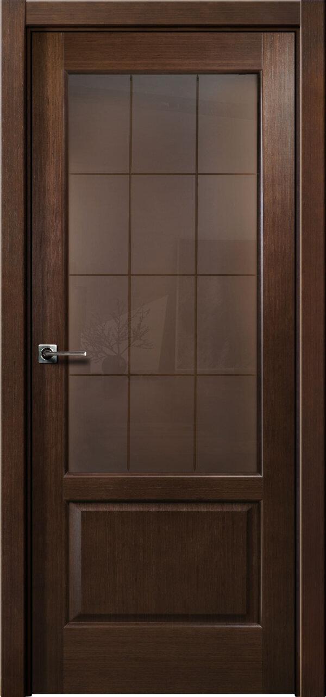 Ульяновская межкомнатная дверь Viva Trend Кристалл (со стеклом) — Дверимаркт