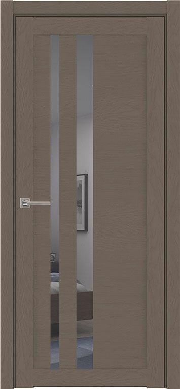 Межкомнатные двери экошпон Uberture Soft Touch 30008 (с зеркалом) — Дверимаркт