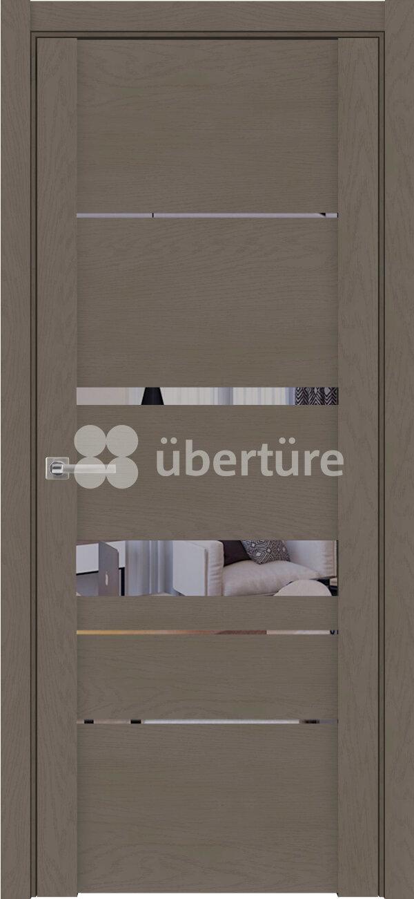 Межкомнатные двери экошпон Uberture Soft Touch 30023 (с зеркалом) — Дверимаркт