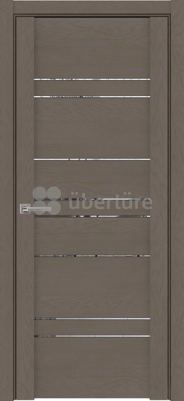 Межкомнатные двери экошпон Uberture Soft Touch 30032 (с зеркалом) — Дверимаркт