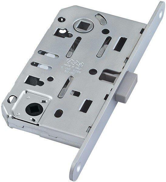 AGB Mediana Polaris Бесшумный магнитный замок для сантехнической двери Матовый — Дверимаркт