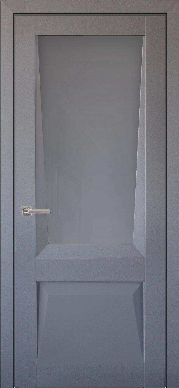 Межкомнатная дверь Uberture Перфекто 106 (со стеклом) — Дверимаркт