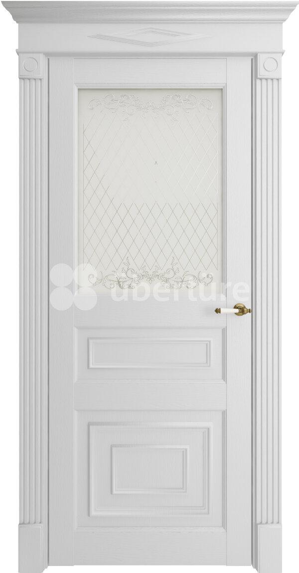 Межкомнатные двери экошпон Uberture Florence 62001 (со стеклом) — Дверимаркт