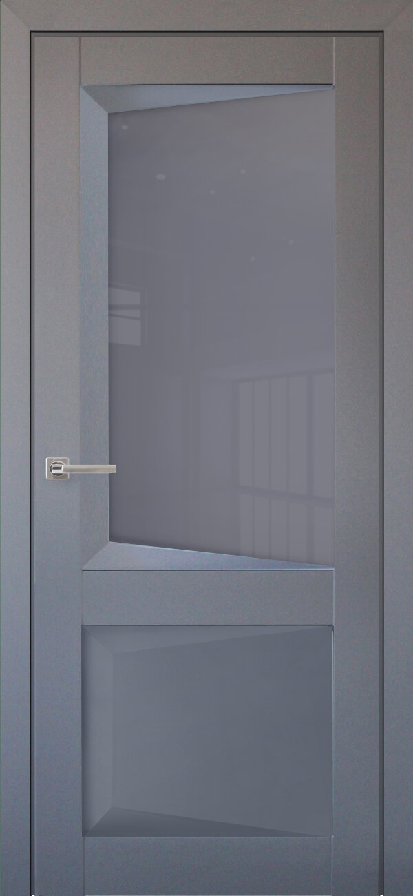 Межкомнатная дверь Uberture Перфекто 108 (со стеклом) — Дверимаркт