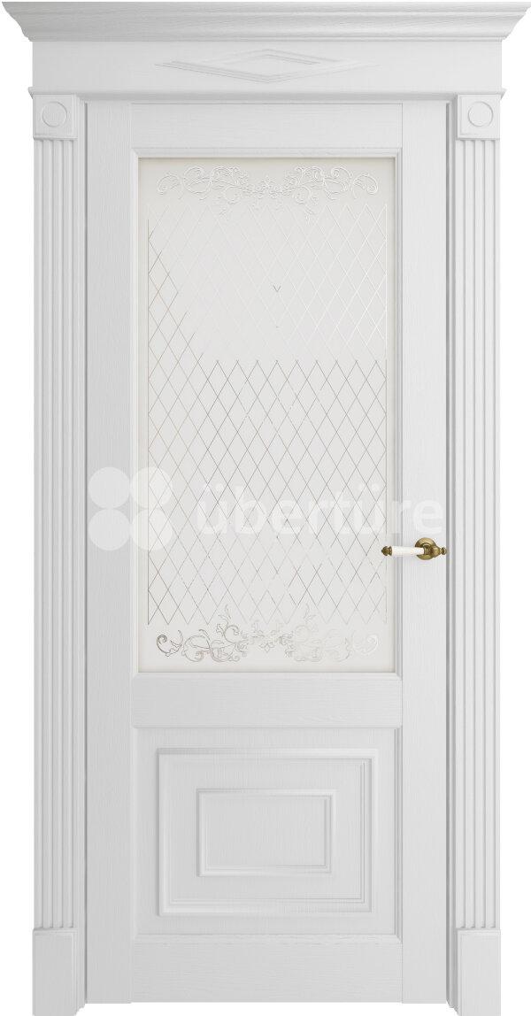 Межкомнатные двери экошпон Uberture Florence 62002 (со стеклом) — Дверимаркт