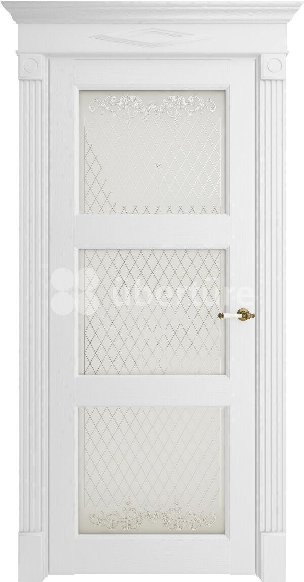 Межкомнатные двери экошпон Uberture Florence 62003 (со стеклом) — Дверимаркт